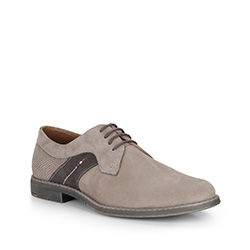 Männer Schuhe, dunkelbeige, 84-M-400-9-44, Bild 1