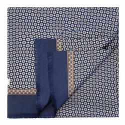 Herrenschal, dunkelblau-beige, 89-7M-S41-X2, Bild 1