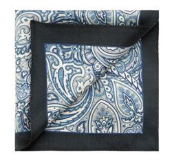 Einstecktuch, dunkelblau-blau, 85-7P-X01-X5, Bild 1