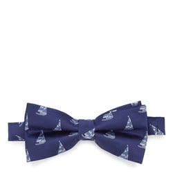 Krawatte, dunkelblau-blau, 87-7I-001-X6, Bild 1