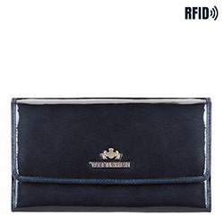 Brieftasche, dunkelblau, 14-1L-002-N, Bild 1