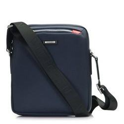 Brieftasche, dunkelblau, 86-4U-201-7, Bild 1