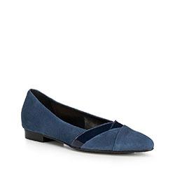 Damenschuhe, dunkelblau, 90-D-205-7-37, Bild 1