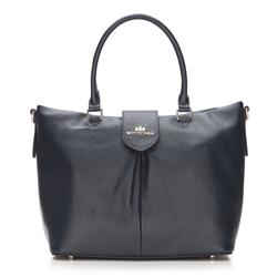 Damen Handtasche, dunkelblau, 87-4E-206-7, Bild 1