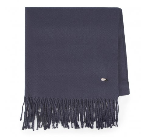 Damen Schal, dunkelblau, 87-7D-X99-7, Bild 1