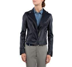 Damenjacke, dunkelblau, 80-09-910-7-L, Bild 1