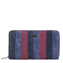 Brieftasche, dunkelblau-dunkelrot, 87-1Y-700-X3, Bild 1