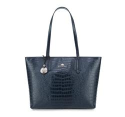 Einkaufstasche, dunkelblau, 15-4-057-7, Bild 1