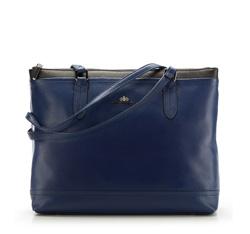 Einkaufstasche, dunkelblau, 85-4E-459-7, Bild 1