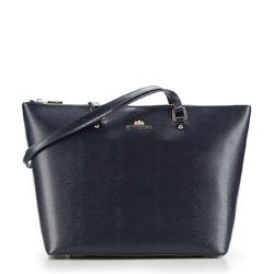 Einkaufstasche, dunkelblau, 87-4-707-N, Bild 1
