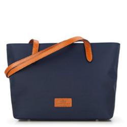 Einkaufstasche, dunkelblau, 87-4E-432-7, Bild 1