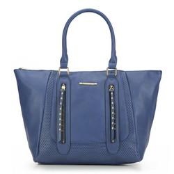 Einkaufstasche, dunkelblau, 87-4Y-400-7, Bild 1