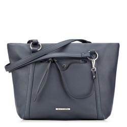 Einkaufstasche, dunkelblau, 87-4Y-405-7, Bild 1