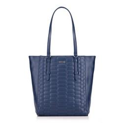 Einkaufstasche, dunkelblau, 87-4Y-555-7, Bild 1