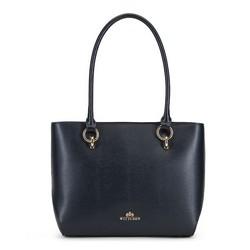 Einkaufstasche, dunkelblau, 89-4E-413-7, Bild 1