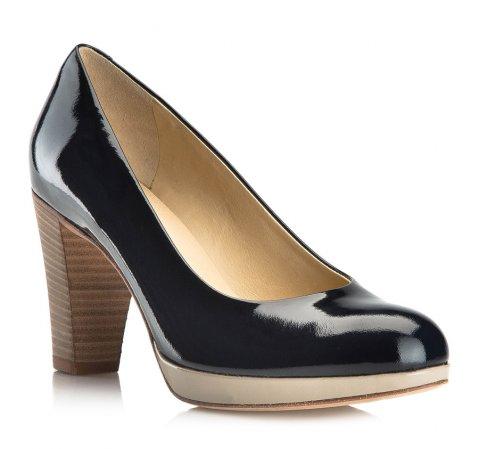 Frauen Schuhe, dunkelblau, 80-D-106-7-36, Bild 1