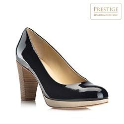 Frauen Schuhe, dunkelblau, 80-D-106-7-38, Bild 1