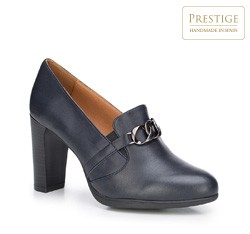 Frauen Schuhe, dunkelblau, 87-D-302-7-37, Bild 1