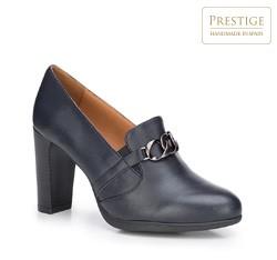 Frauen Schuhe, dunkelblau, 87-D-302-7-38, Bild 1