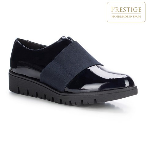 Frauen Schuhe, dunkelblau, 87-D-304-7-37, Bild 1