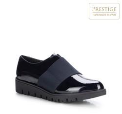 Frauen Schuhe, dunkelblau, 87-D-304-7-38, Bild 1