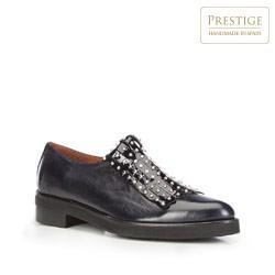 Frauen Schuhe, dunkelblau, 87-D-452-7-40, Bild 1
