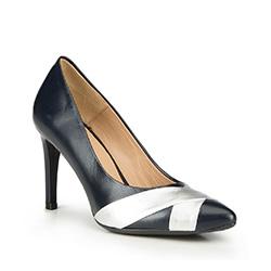Frauen Schuhe, dunkelblau, 87-D-703-7-40, Bild 1