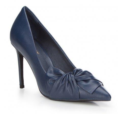 Frauen Schuhe, dunkelblau, 87-D-926-1-38, Bild 1