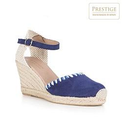 Frauen Schuhe, dunkelblau, 88-D-500-7-38, Bild 1