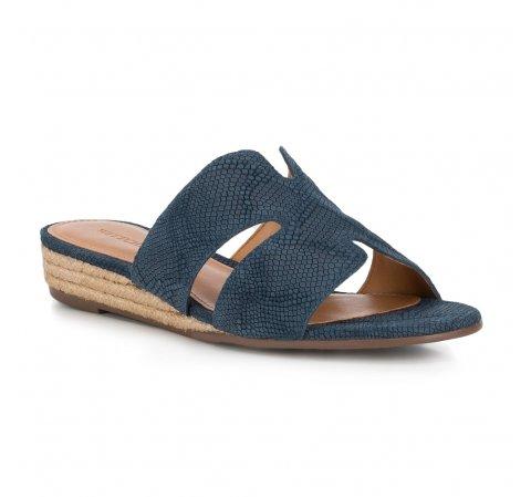 Frauen Schuhe, dunkelblau, 88-D-714-7-35, Bild 1