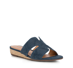 Frauen Schuhe, dunkelblau, 88-D-714-7-38, Bild 1