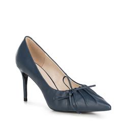 Damenschuhe, dunkelblau, 90-D-900-7-39, Bild 1