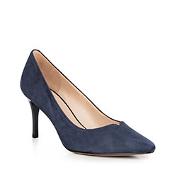 Frauen Schuhe, dunkelblau, 90-D-951-7-37, Bild 1