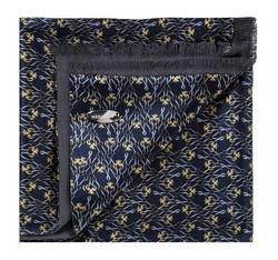 Schal, dunkelblau-gelb, 85-7M-X01-X4, Bild 1