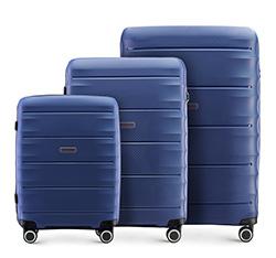 Kofferset 3-teilig, dunkelblau, 56-3T-76S-90, Bild 1