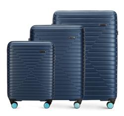 Kofferset 3-teilig, dunkelblau, 56-3A-45S-90, Bild 1