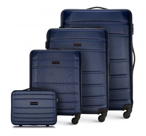 Gepäckset, dunkelblau, 56-3A-65K-01, Bild 1
