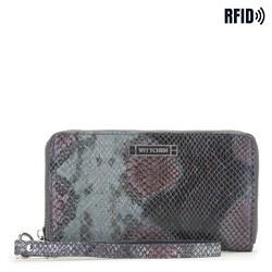 Brieftasche, dunkelblau-grau, 26-1W-428-NP, Bild 1