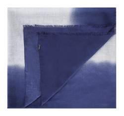 Damen-Schal, dunkelblau-grau, 83-7D-X06-7, Bild 1
