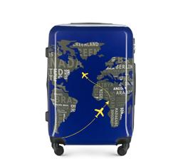 Mittelgroßer Koffer, dunkelblau-grau, 56-3A-462-9C, Bild 1