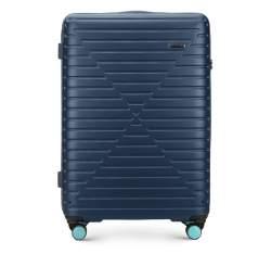 Großer Koffer, dunkelblau, 56-3A-453-90, Bild 1