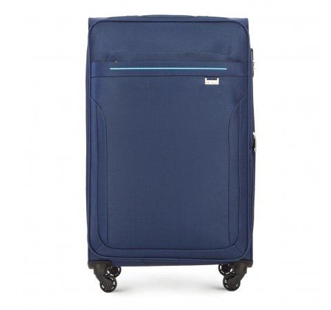 Großer Koffer, dunkelblau, V25-3S-263-90, Bild 1