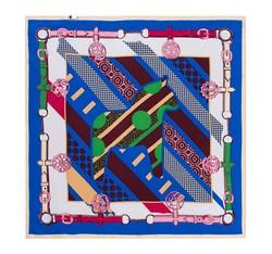 Schal, dunkelblau-grün, 86-7D-S12-X2, Bild 1