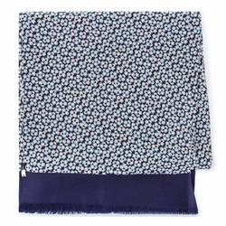 Seidenschaal für Herren, dunkelblau-grün, 93-7M-S41-6, Bild 1