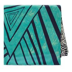 Seidenschaal, dunkelblau-grün, 93-7D-S40-9, Bild 1