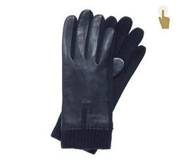 Handschuhe für Herren, dunkelblau, 47-6-201-7-U, Bild 1