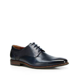 Männer Schuhe, dunkelblau, 90-M-911-7-39, Bild 1