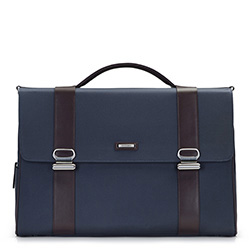 Laptoptasche, dunkelblau, 86-3U-207-7, Bild 1