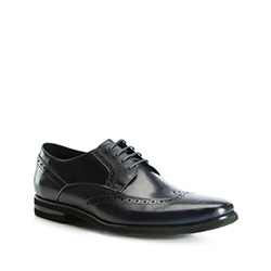 Männer Schuhe, dunkelblau, 83-M-801-7-45, Bild 1
