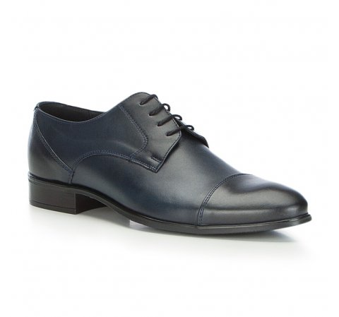 Männer Schuhe, dunkelblau, 87-M-600-7-40, Bild 1